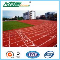 Full PU Mixed Running Track Flooring For Gym Playground Indoor Recycled Rubber Floor