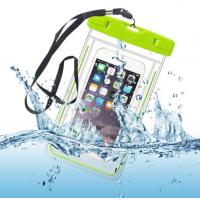Buy cheap Water-Resistant Phone Pouch Water-Tight Dry Bag for Cell Phone with Dule-Sides Transparent Windows product