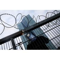 Buy cheap Concertina Barbed Wire , Razor Barbed Tape Concertina Powder Coating Surface product