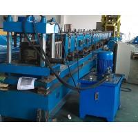 Buy cheap Galvanized Steel Heavy Duty Storage Rack Upright Roll Forming Machine Quick Size Changeable Cassette product
