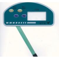 Buy cheap Smart Flexible Automotive Touch Screen Membrane Switch Panel With 4 Buttons product