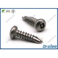 Buy cheap Stainless Steel 304/410 Self Drilling Torx Tamper Proof Screw product