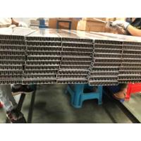 Buy cheap Flat Oval Aluminum Radiator Tube With Aluminum Fin Inside For Charge Air Cooler from wholesalers