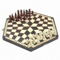 Buy cheap Wooden Chess, Measures 35.5 x 20 x 4.8cm product