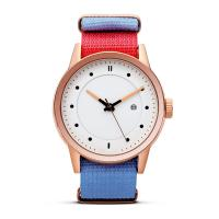 China Quartz Stainless Steel Watch Water Resistant Nylon Strap Watches For Women on sale
