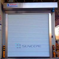 Galvanized Steel Automatic Roller Door Opening Speed 0.2m/s AC 220V