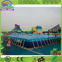 Buy cheap Outdoor Intex Metal Frame Playground Swimming Above Ground Pool product