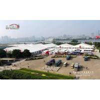 Buy cheap Aluminum Frame 40m Exhibition Tents used for Canton Fair from Wholesalers