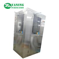 Buy cheap L Type Door Corner Stainless Steel Air Shower Customize Size Easy To Clean product