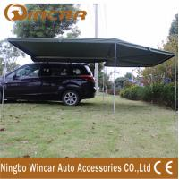 China Canvas Tent Trailer Awning Waterproof with Rectangle Triangle on sale