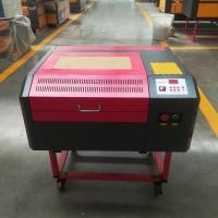 Buy cheap 50W Laser engraver machine 400*400mm 440 with up and down table and air blower for DIY gift or crafts product