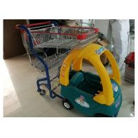 Buy cheap Plastic / Steel Supermarket Children Shopping Cart , Baby Shopping Trolleys from Wholesalers