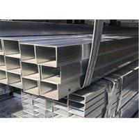 Buy cheap Weldable Plain 3x3 Ss Square Tube , Stainless Steel Hollow Tube Standard Sizes product