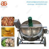 Buy cheap Selling Boiled Peanuts Roadside|Steam Jacketed Kettle Specifications|Automatic Potato Chips Jacketed Machine product