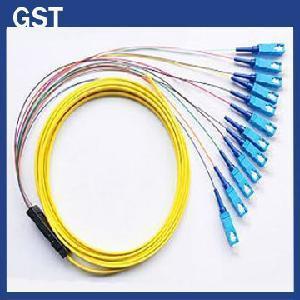 Buy cheap Fiber Optic Pigtail -SC/PC- 12 Cores Fanout product