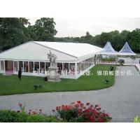 Buy cheap 25m width 1000 people air conditioned outdoor wedding tent with church windows from wholesalers
