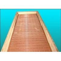 Buy cheap Narrow Wider Sides Copper Mould Plate Square Structural With Long Or Short Funel product