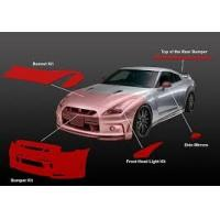 Buy cheap Urethane Car Body Paint Protection Film Solvent Resistant Easy Cleaning product