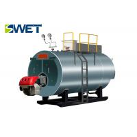 High Degree Automation Gas Steam Boiler 194 ℃ Rated Steam Temperature
