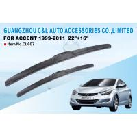 24 20 3 section rubber hybrid wiper blades for toyota. Black Bedroom Furniture Sets. Home Design Ideas