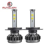 Quality 36w 3800lm LED Car Headlight Bulb / Auto Driving Lights 360 Degree 7 Colors for sale