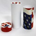 Buy cheap Customised Printing Paper Tube Chocolate Packaging , Gift Packaging,Embossing Printing rou product