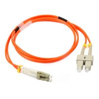 Buy cheap LC Simplex / Duplex Fiber Optic Patch Cord with Low Insertion Loss product