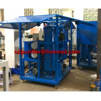Buy cheap China Insulation Oil Purifier Mobile Transformer Oil Purification Machine with Enclosure shelter  filtration Insulating product
