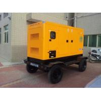 Buy cheap 40KVA/40KW diesel generator powered by Cummins engine 4BTA3.9-G2 three-phases trailer type on sale product