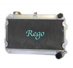 Buy cheap 3 Row 56mm racing car Aluminum Radiator for MAZDA RX7 S1 / S2 MANUAL product
