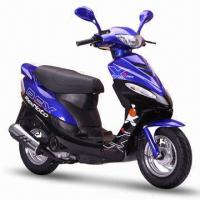 Buy cheap 50cc Gas Scooter with Maximum Power of 2.5kW at 7,500rpm and 4.2L Fuel Capacity product