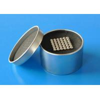 Buy cheap 7.6 g/ cm3 Sintered Ndfeb Magnet , Neodymium Magnetic Ball product