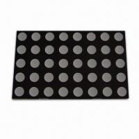 Buy cheap Dot-matrix LED Display, Various Colors are Available, High Brightness product