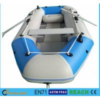 Buy cheap 10.8 Ft Portable Inflatable Float Boat Aluminum Floor With 4 Individual Air Chambers product