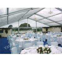 Buy cheap Outdoor Party Tent Transparent PVC Fabric Cover Aluminum Framed Structure product