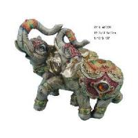 Buy cheap Polyresin Elephant Statue Home Decoration (XY11-60022B) product