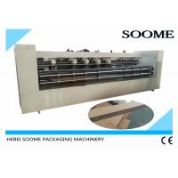 Buy cheap 20mm Board Huge Slitter Scorer Machine , Slitting Creasing Thick Sheet Cutting Machine product