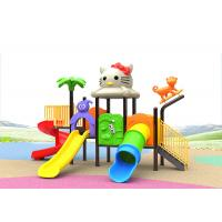 Buy cheap ISO Childrens Play 1000*280*420CM Kids Outdoor Plastic Slide product