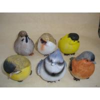 Buy cheap Bright Coloured Polyresin Figurine Small Animal Bird Statues Figurines product