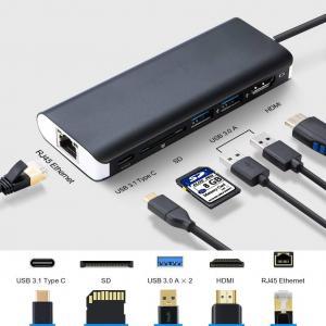 Buy cheap USB Hub 6-Port USB 3.0 Ultra Slim Data Hub for computer, Mac Pro / mini with Micro USB Charging product