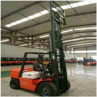 3 Ton Diesel Forklift Truck FD30 Engine Powered With 1070mm Fork Length for sale