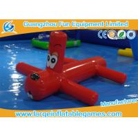 Buy cheap 0.9mm PVC Inflatable Water Park Games Red Inflatable Dragonfly Water Toys For Children product