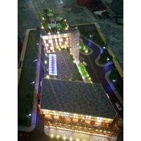 China Uk apartment model for exhibition , led light architectural 3d model on sale