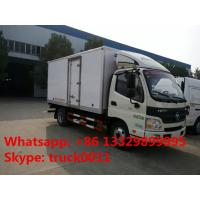 Buy cheap Foton Aumark 4*2 3-5tons refrigeration van truck for sale, best quality 5tons Foton brand cold room truck for sale product