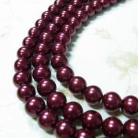 Buy cheap red dyed pearl losse beads product