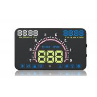 Buy cheap E350 Hud Windshield Speedometer Display , Overspeed Alarm Hud Car Head Up Speed Display product