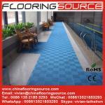 Buy cheap Interlocking PVC Swimming Pool Mat Non silp safety mat Locker Room Mat Drain Water Mat product