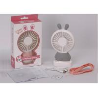 China Anti Slip Mini Portable USB Fan Blower ABS Plastic Material Customized Color on sale