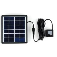 China 1.5W 6V Solar Powered Panel Brushless Water Pump For Outdoor Garden Fountain Pond on sale