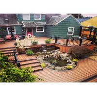 Buy cheap Wood  Plastic Composite Waterproof Decorating Decking Flooring product